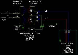 30 480v To 240v Transformer Wiring Diagram