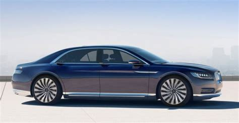 2019 Lincoln Continental Concept  201819 Ford Cars