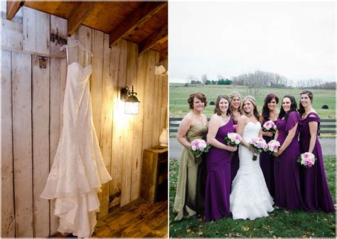 Barn Wedding Bridesmaid Dresses by Ohio Farm Barn Wedding At Brookside Farm Rustic Wedding Chic