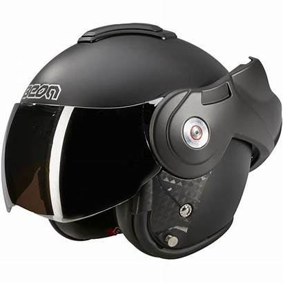 Beon Reverse B702 Helm Zwart Mat Open