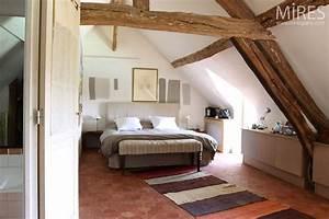 Chambre Sous Les Combles : chambre sous combles c0349 mires paris ~ Melissatoandfro.com Idées de Décoration