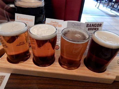 On The Maine Beer Trail Good Beer, Good Food, Good People