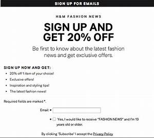 H M Newsletter : 27 tips on how to get more email signups business 2 ~ A.2002-acura-tl-radio.info Haus und Dekorationen