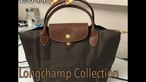 longchamp collection  size comparison youtube