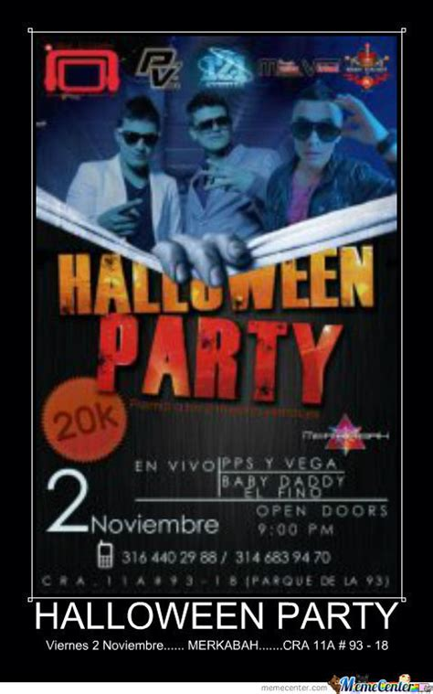 Halloween Party Meme - halloween party 2 by jhonsitoc meme center