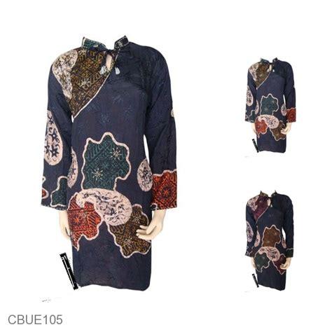 Kalung Batik Sekar We02 baju batik blus eksklusif motif pola sekar jagad atasan
