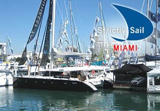 Miami Boat Show Strictly Sail by Strictly Sail Miami Boatshow Sunreef Yachts