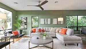 Light, Green, Living, Room, Decor