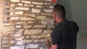 Comment Faire Enduit Imitation Pierre : peinture imitation pierre apparente ~ Melissatoandfro.com Idées de Décoration