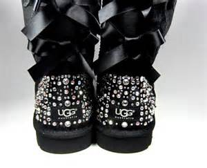 ugg bailey bow bling sale exclusive swarovski embellished bailey bow uggs in sparkly tm winter