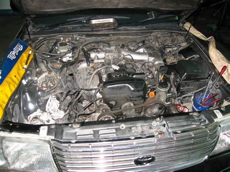 toyota crown engine transform to gt car