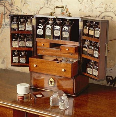 portable medicine cabinet early  century mahogany