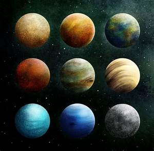 Planets Our solar system when Pluto still with them ...