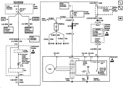 Alternator Isuzu Rodeo Wiring Diagram Trooper