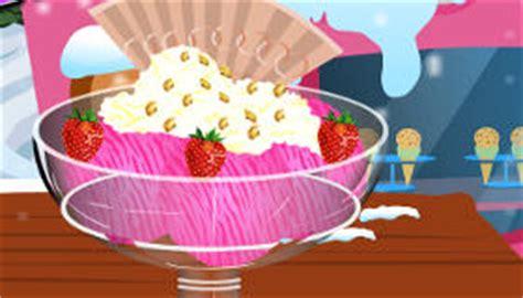 jeux de cuisine dessert le dessert glacé d elsa jeu de glace jeux 2 cuisine