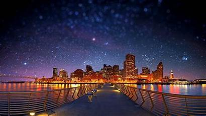 Desktop Stars Shift Night Tilt Starry Wallpapers