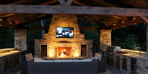 kitchen with islands designs outdoor kitchens entertainment areas the woodlands