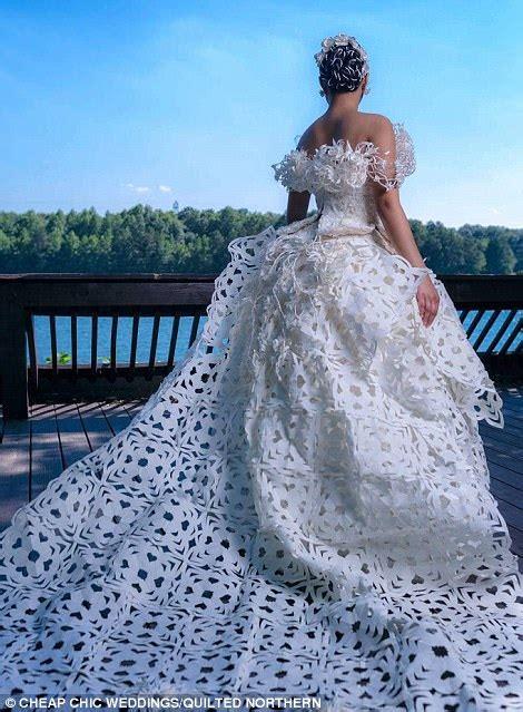 toilet paper wedding dress contest finalist chosen