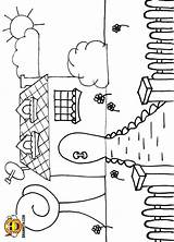 Gate Coloring Colouring Pages Includes Along Which sketch template