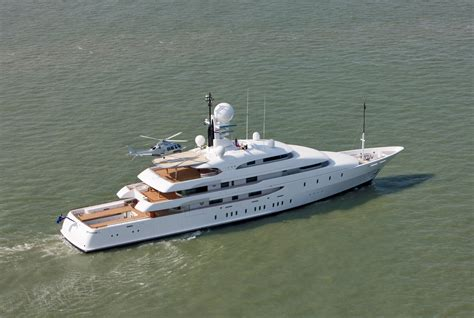 Yacht With Helipad by Amels Megayacht Ilona After Refit Photo Credit Amels