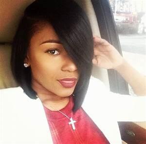 13 Fabulous Short Bob Hairstyles for Black Women - Pretty ...