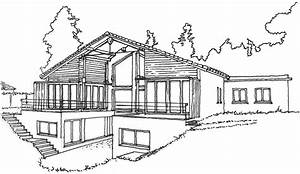stunning architecture moderne maison dessin images With beautiful plan de maison design 1 lintemporel dessin design architecture