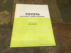 1984 Toyota Starlet Wiring Diagrams Electrical Service