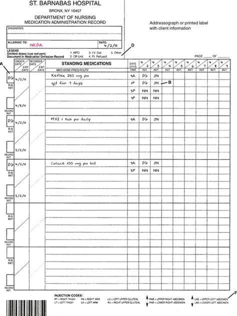 medication administration records  drug distribution systems basicmedical key