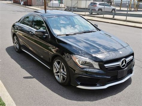 Progressive dynamics from bonnet to rear. 2016 MERCEDES-BENZ CLA-CLASS CLA45 4MATIC AMG 12505 Miles BLACK SEDAN 4 CYLINDER for sale in ...