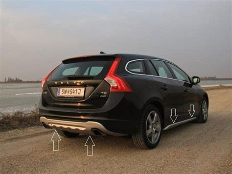 Volvo Kit by Volvo S60 V60 Kit Rear And Front Bumper Spoiler And