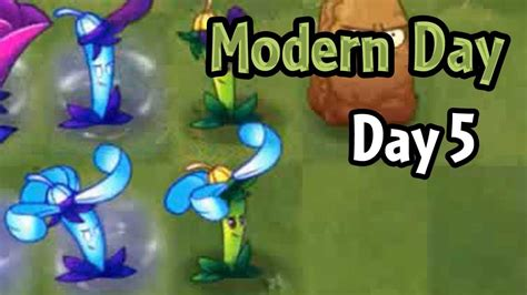 plants vs zombies modern plants vs zombies 2 modern day day 5 nightshade