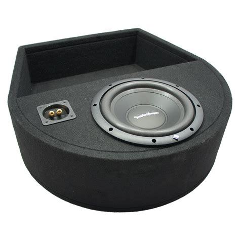 universal replacement spare tire rockford r1s410 single 10 sub box enclosure 709100412088 ebay