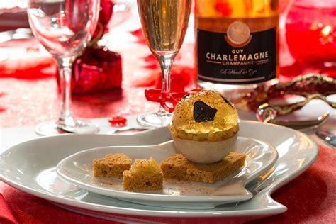 de cuisine indienne boule de foie gras et sa gelée de chagne truffée