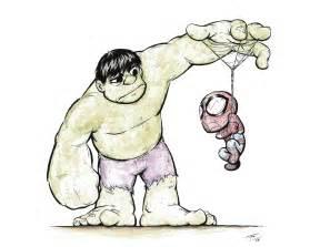 Marvel Baby Super Heroes Drawings