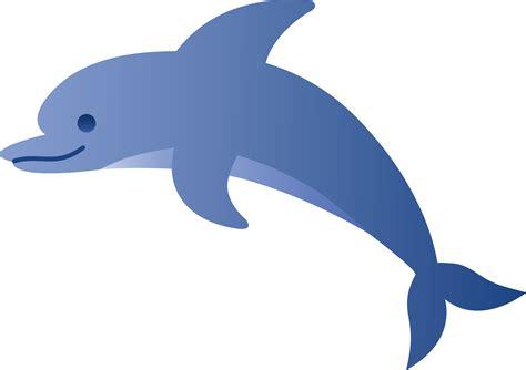 Jumping Dolphin Clip Art