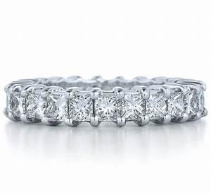 wedding band princess diamond eternity all around ring g With wedding rings with diamonds all around