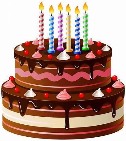 Cake Birthday Clip Clipart Happy Transparent Yopriceville