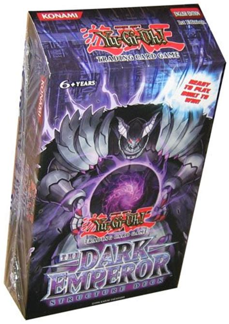 yugioh trading card structure deck the dark emperor deck