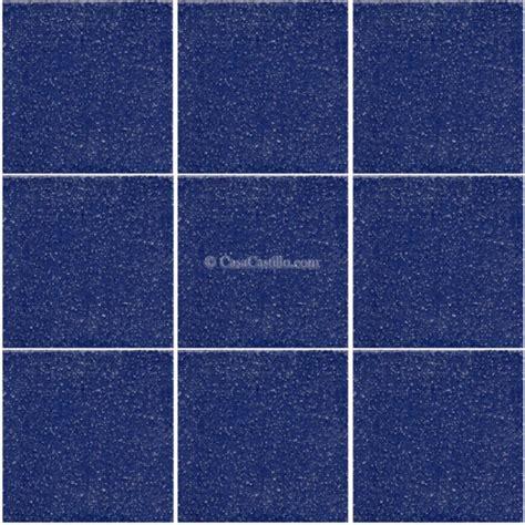 ceramic proof tiles non slip cobalt blue