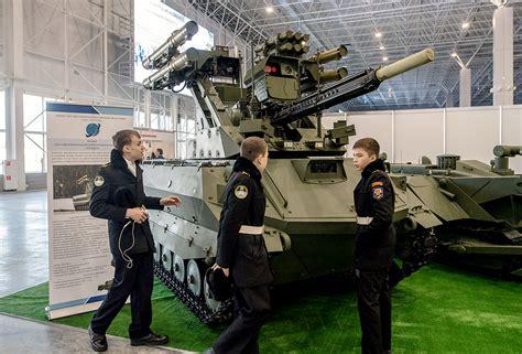 Uran-9 Combat Robot Undergoes Final Testing