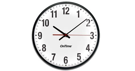Analog Wired Clock Systems By