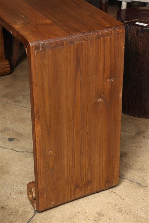 mahogany kitchen cabinets scroll console table at 1stdibs 6446