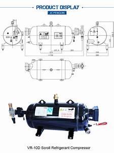 10hp Size Variety Refrigeration Compressor