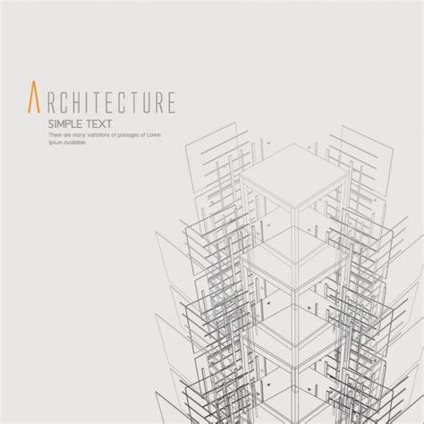 Architecture Background Design Vector  Free Download