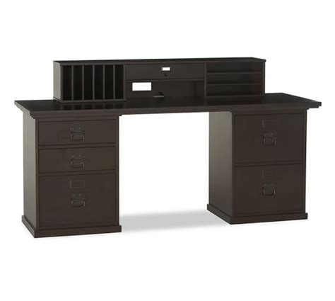 pottery barn bedford desk used bedford smart technology desk hutch pottery barn