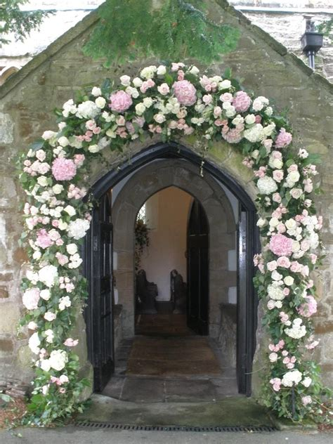 Archway For Small Village Church In Derby Church Flowers