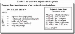 Epa Volume To Weight Conversion Table