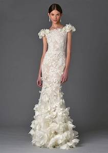 2017 wedding dress trend you need to know about 3d floral for 2017 wedding dress trends