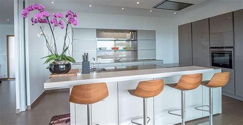 villa cuisine cuisine luxe moderne design leicht maison de prestige