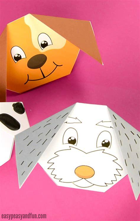 origami dog easy peasy  fun